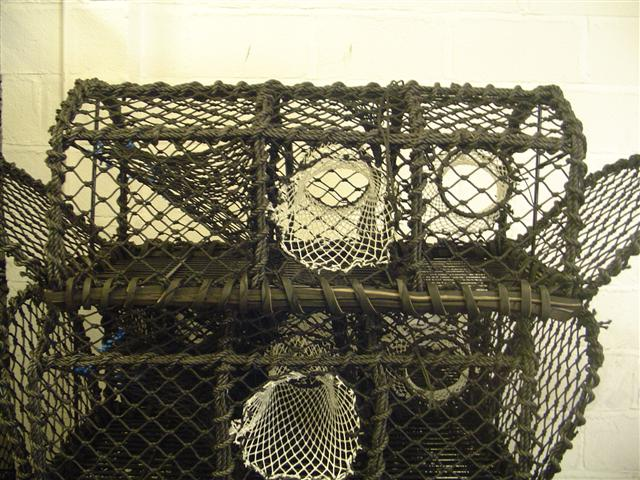 Custom made Lobster or Crab pots to your specifications.