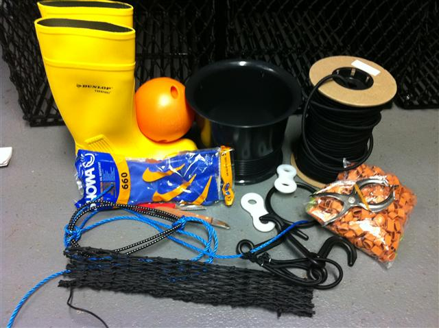 Other fishing gear and accessories available.